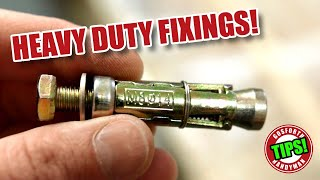 Video How to fix REALLY HEAVY things to walls? Meet the WALL BOLT! MP3, 3GP, MP4, WEBM, AVI, FLV Agustus 2019