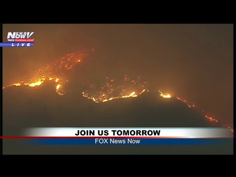 FNN: Fires cause evacuations in CA; Shooting massacre coverage; Latest AZ election results