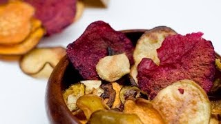Veggie Chips (baked) - YouTube