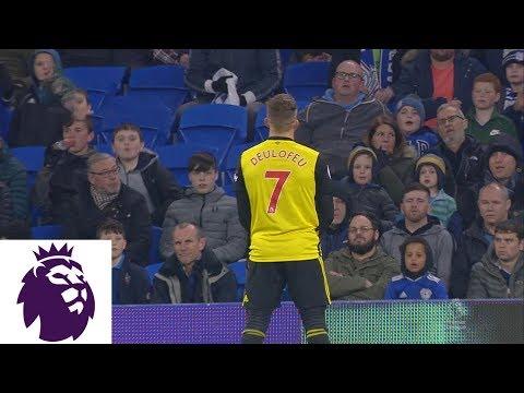 Video: Gerard Deulofeu scores his third goal with slick chip v. Cardiff City | Premier League | NBC Sports