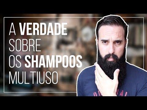 a VERDADE sobre os shampoos MULTIUSO (Cabelo e barba)