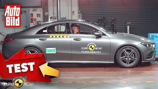 Mercedes CLA (2019): Crashtest - Euro NCAP - Sicherheit - Infos by Auto Bild