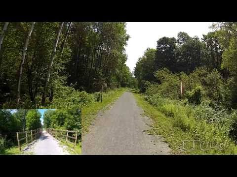 Ghost Town Trail, Vintondale to Ebensburg Pa.
