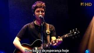 Oasis - The Masterplan - Legendado • [BR | Live Wembley 2008]