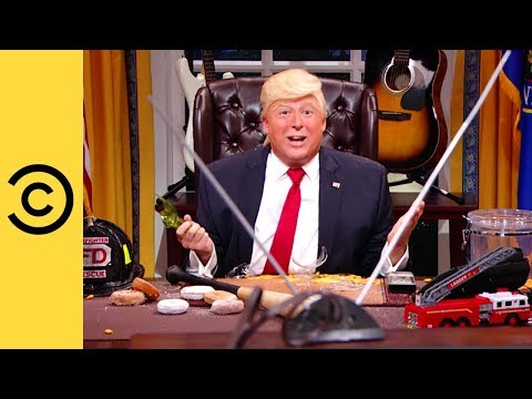 The President Smashes Everything - The President Show | Comedy Central