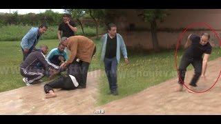 فيديو صادم ..مشارك في لالة لعروسة يتعرض لكسر في يده