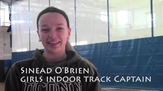 Girls Winter Track Interviews