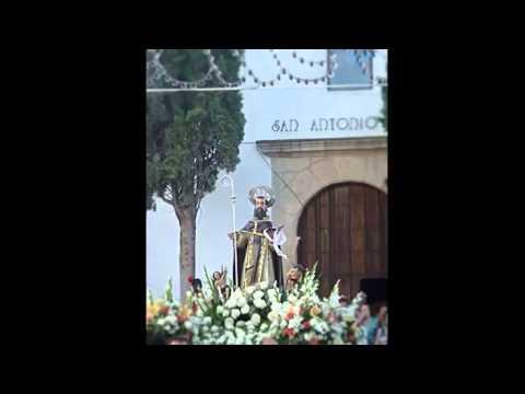 """Die Kirche """"San Antonio Abad"""", Cuevas del Becerro"""