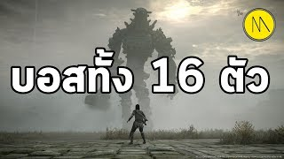 Shadow of The Colossus : รวมบอส 16 ตัว
