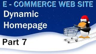 7. E - Commerce Website Tutorial - PHP MySQL Dynamic Home Page