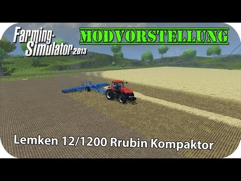 Lemken Rubin compactor 12 1200 v4.1 MR