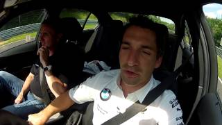DTM Driver Timo Glock takes the BMW M4 for a ride at Nurburgring. See more BMW M4 news at http://www.bmwblog.com/2013/09/25/breaking-technical-specs-new-bmw-...