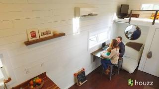 Intip Kehidupan Keluarga di Rumah Kecil Nan Apik Ini