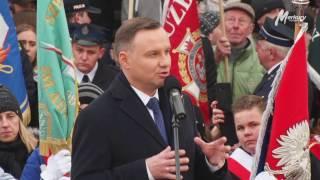 Andrzej Duda wygwizdany w Obornikach Wielkopolskich: 'Duda marionetka!'