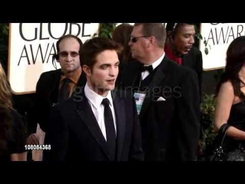 Robert Pattinson at the 68th Annual Golden Globe Awards
