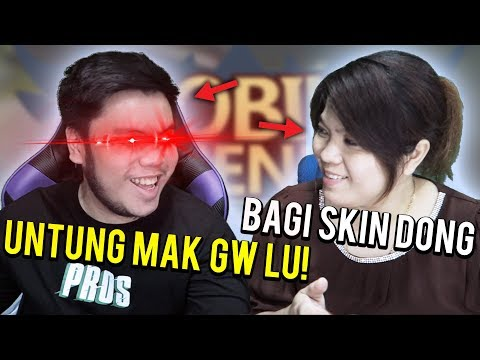 MAMI PROS MINTA SKIN SAMA SULTAN AUTO DIKASIH!?!? - Mobile Legends Indonesia #87