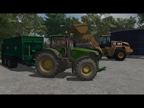 FARMING SIMULATOR 2013  JOHN DEERE 7310R BY AGO MODDING