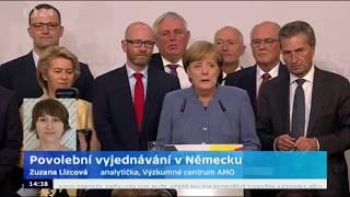 Povolební vyjednávání v Německu