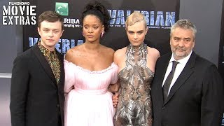 Valerian and the City of a Thousand Planets - LA World Premiere (USA)Subscribe and click the notification bell HERE: http://goo.gl/SrrTlTSubscribe to Filmisnow Movie Trailers: http://goo.gl/8WxGeDA dark force threatens Alpha, a vast metropolis and home to species from a thousand planets. Special operatives Valerian and Laureline must race to identify the marauding menace and safeguard not just Alpha, but the future of the universe.Some of the best and most funniest movie moments happen behind the scenes.  FilmIsNow Movie Extras channel gives you the latest and best behind the scenes footage, bloopers, interviews, featurettes, deleted/alternate scenes. We give you the before, during and after that goes into making movies.
