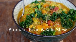 Aromatic Bean and Kale Stew
