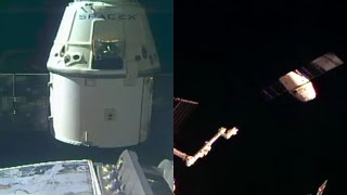 The SpaceX Dragon cargo spacecraft (CRS-9) departed from the International Space Station on 26 August 2016, at 10:11 UTC. The capsule is scheduled to splashd...