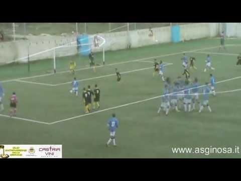 Preview video <strong>GINOSA-LATIAS 5-0 Il Ginosa al completo a valanga sul malcapitato Latias</strong>