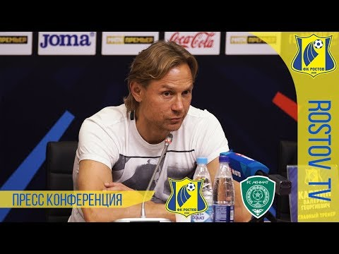 """Ростов"" - ""Ахмат"" - 1:0. Комментарий Валерий Карпина"