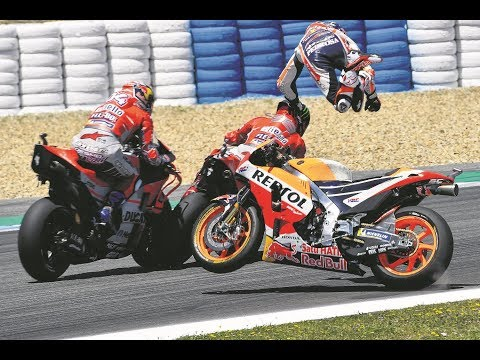 MotoGP 2018 Crashes