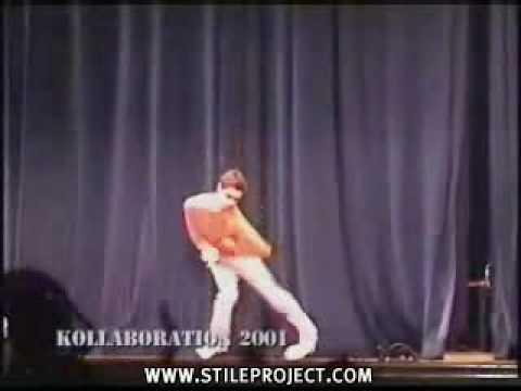 crazy robot dancer