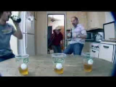 Beer Pong – Carlsberg [from www metacafe com]