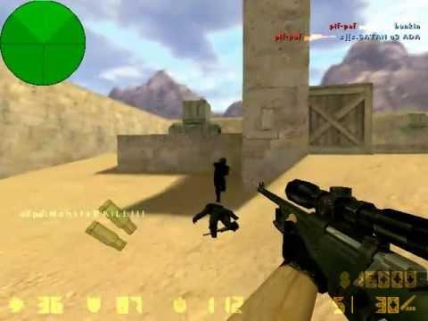 Снайперская карта - awp_dust cs 1.6