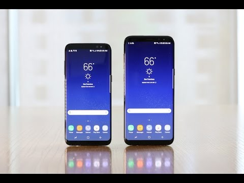 <b>Samsung Galaxy S8</b> users to receive software fix after display issues