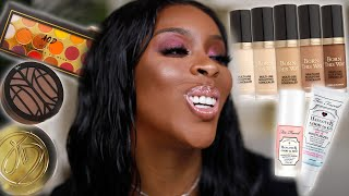 Trying New Makeup, Spilling Tea, Chatting About Life! | Jackie Aina
