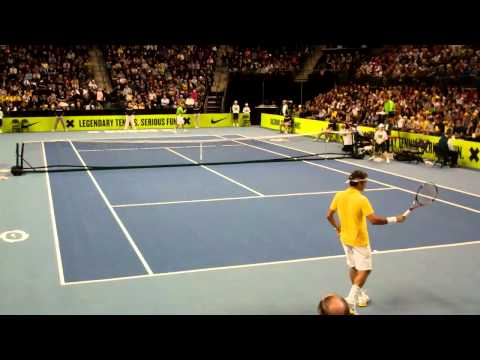 Federer vs Nadal - Clash of The Champions - part 1