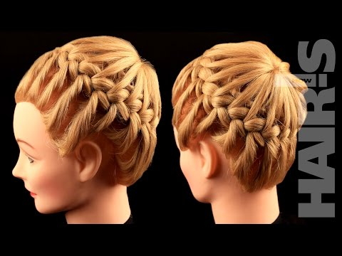 How to do a crown wreath braided hairstyle