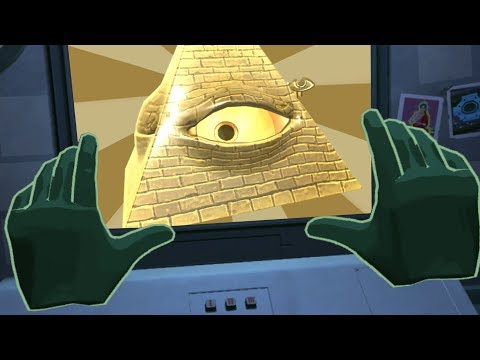 I FOUND THE ILLUMINATI! (Please Don't Touch Anything VR)