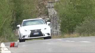 LEXUS IS HYBRID F-SPORT 2014 - TEST DRIVE