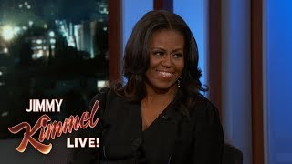 Video Jimmy Kimmel's FULL INTERVIEW with Michelle Obama MP3, 3GP, MP4, WEBM, AVI, FLV Desember 2018