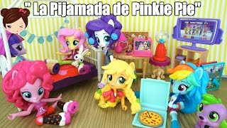 My Little Pony Equestria Minis  Serie - La Pijamada de Pinkie Pie - Juguetes MLP
