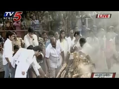 Video ANR's Cremations Exclusive From Annapurna Studios | TV5 News download in MP3, 3GP, MP4, WEBM, AVI, FLV January 2017