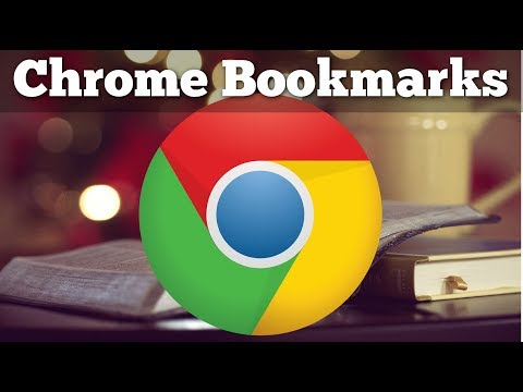 Chrome Bookmarks - Tutorial for Beginners