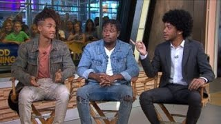 The Get Down | Jaden Smith, Shameik Moore, Justice Smith Interview