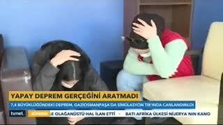 Deprem Simülasyon Tırı Gaziosmanpaşa'da - Tv Net