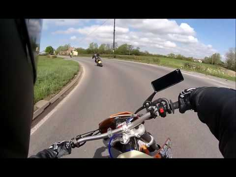 Shapwick on a KTM 520 EXC