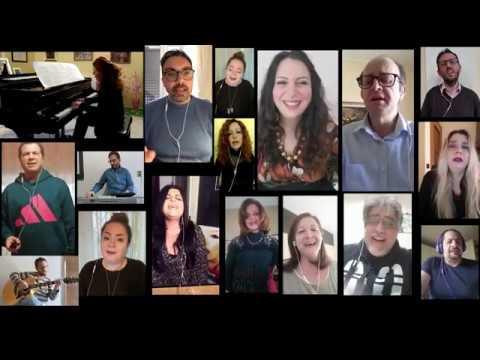 Emergenza covid: giornalisti calabresi uniti nel canto
