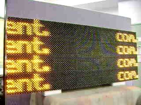 Outdoor LED VMS sign P16 32x80
