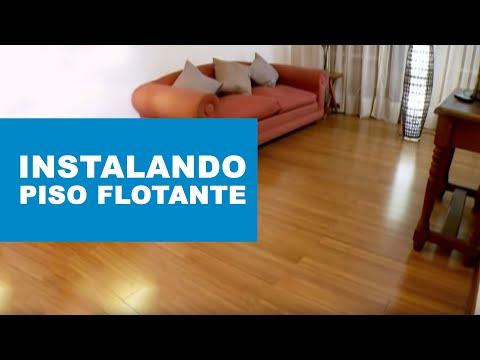 ¿Cómo instalar un piso flotante de madera sólida?