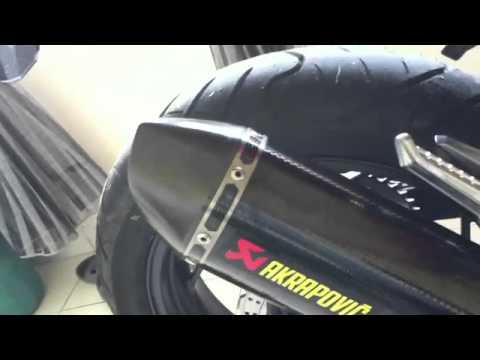 2013 kawasaki ninja 250r with akrapovic