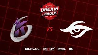 Keen Gaming vs Team Secret, DreamLeague Season 11 Major, bo3, game 1 [Jam & Maelstorm]