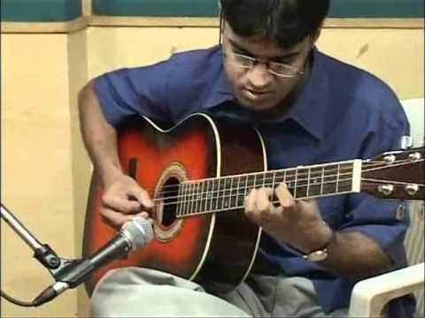 Indian Classical Music on Spanish Guitar, Kapil Guitarist, Guitarist in Delhi